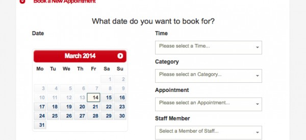 5: Make New Booking