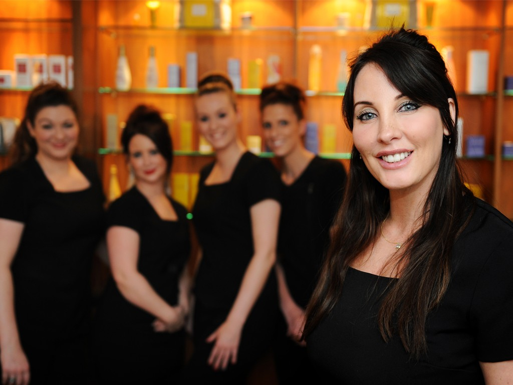 Andrea Scholes, MD of Springs Beauty and her fabulous team