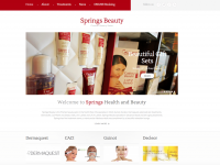 Springs Beauty website